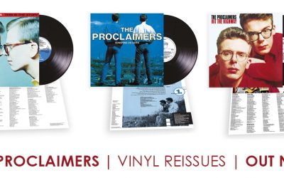 First three albums reissued on vinyl now available