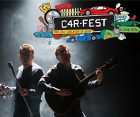 The Proclaimers will be performing at Carfest 2018 at both the North and South events.