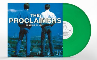 Sunshine On Leith on Green Vinyl at HMV