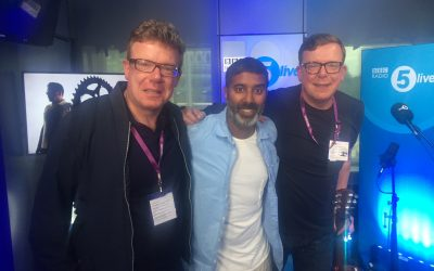 Interview and Performance with BBC Radio 5 Live.