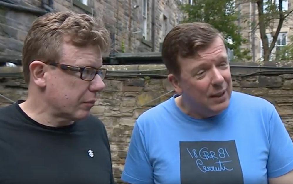 STV News interview on Streets Of Edinburgh