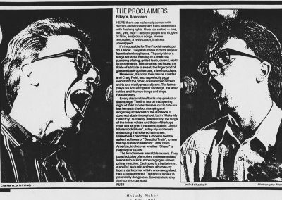 MELODY MAKER RITZY'S 1987