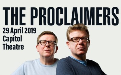 The Proclaimers will perform live in Singapore on 29 April 2019