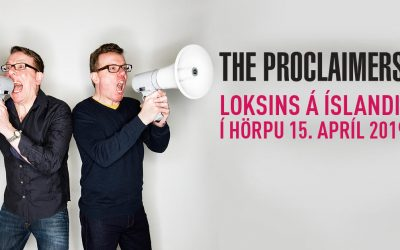 The Proclaimers first ever live concert in Reykjavik