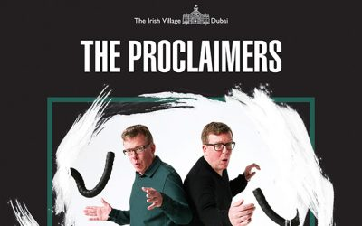 The Proclaimers return to Dubai in 2019