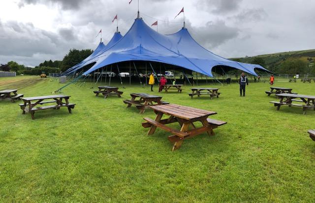 Melrose Tent Up