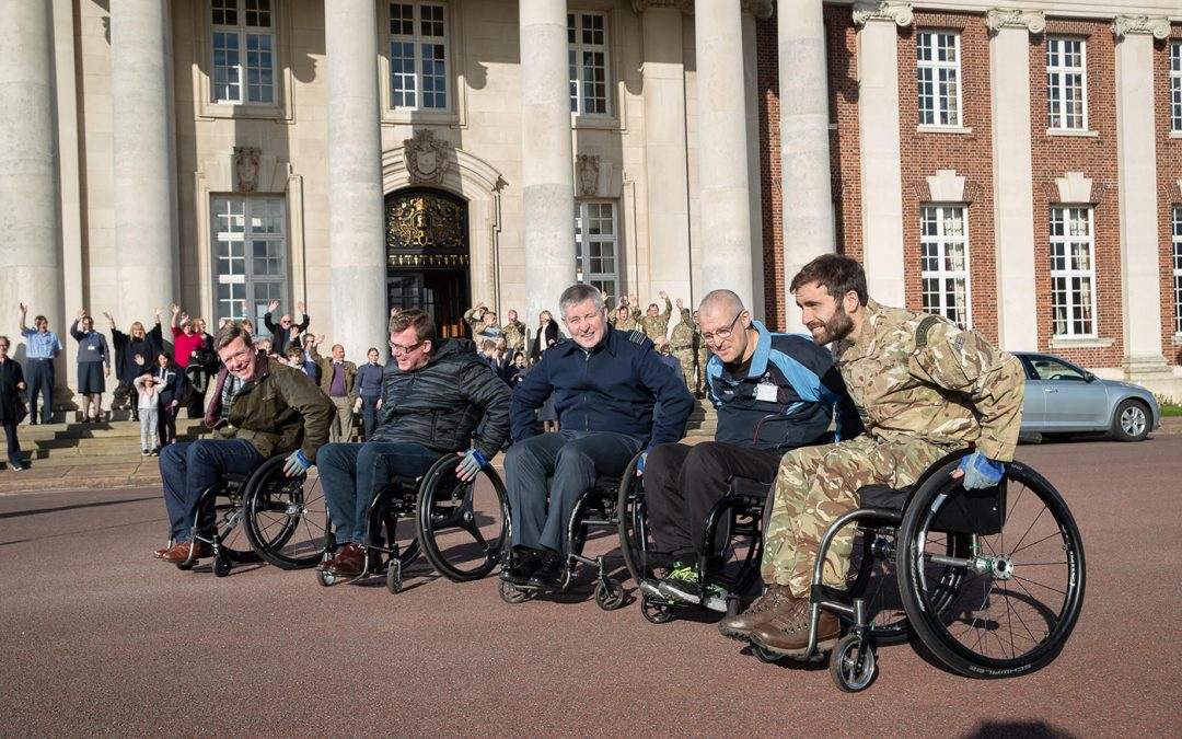 SEAN PUSHES FOR 500 MORE AT RAF COLLEGE CRANWELL