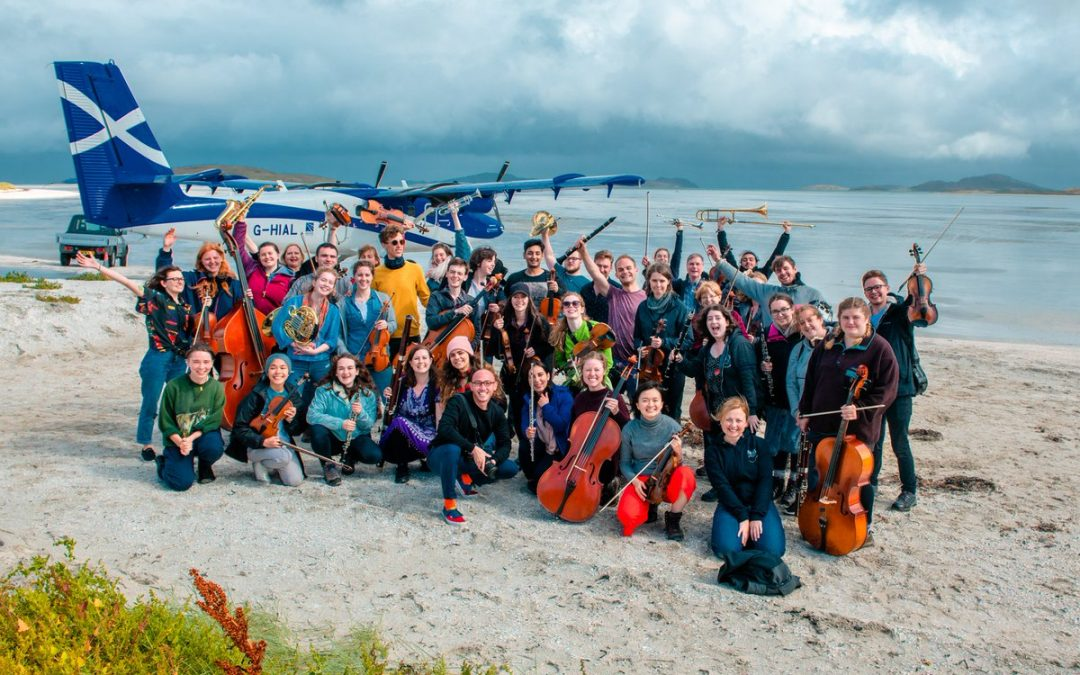 The Nevis Living Room Ensemble – Invitation to participatein I'm Gonna Be (500 Miles) recording