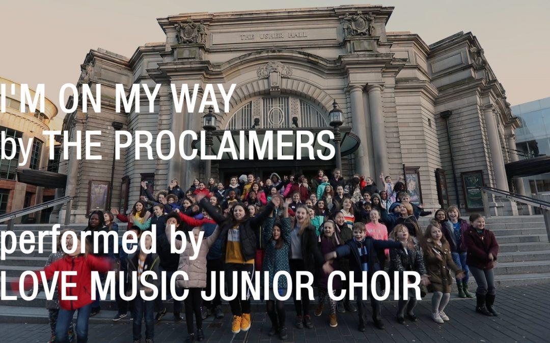 Love Music Junior Choir – I'm On My Way