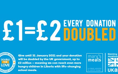 Mary's Meals – Double The Love Campaign