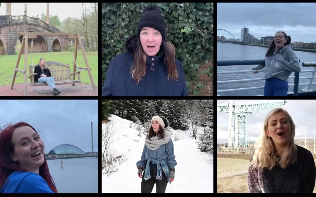 Glasgow theatre performers create their own Sunshine